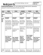 ECE 1 Lesson Plan Template