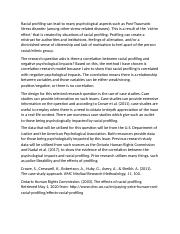 Racial Profiling In The Criminal Justice System Essay - Words