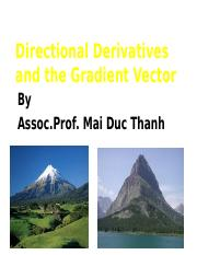 L6-Directional Derivatives