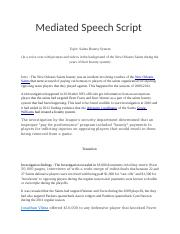 Mediated Speech Script.docx