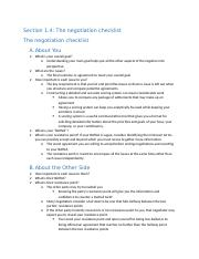 Section 1.4 - The negotiation checklist.docx