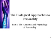The Biological Approach Part 1_2012