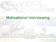 Motivational Interviewing final