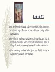 Introduction to Art1  _ Roman Art chapter_6.pptx