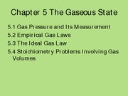 Chapter 5 Gaseous State (Lecture 7-10) (Part 1)done