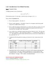 Lab 1 Introduction to User Defined Functions - Copy.docx
