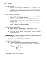 Ch.4 Notes