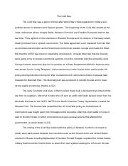 History cold war essay.docx
