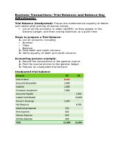 Balance Day Adjustments and Preparation of Classified Financial Accounting Reports .docx