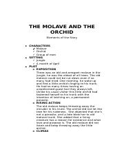 THE MOLAVE AND THE ORCHID.docx