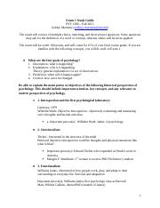 Pyschology Exam 1 Study Guide.docx