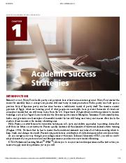 Creating Academic and Career Success - CHAPTER 1_ ACADEMIC SUCCESS STRATEGIES
