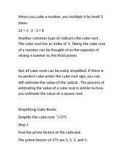 Roots - Cube Roots notes.rtf