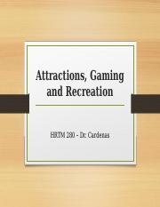 8. Attractions, Entertainment and Recreation.pptx