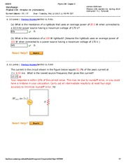 Physics 238 - Chapter 21