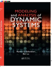 Modeling and Analysis of Dynamic Systems_Esfandiari
