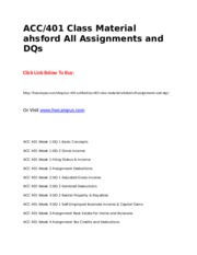 ACC 401 Class Material ahsford All Assignments and DQs.doc