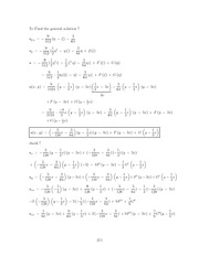 Differential Equations Lecture Work Solutions 211