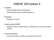 CHEME 100 #04 Reactive systems 1