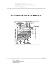 Plant-Soil Water System