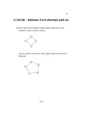 08 - Bellman-Ford shortest path algorithm