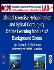 Online Module 2 Spinal Cord Injury(1).ppt