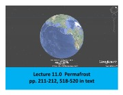 Lecture 11  Permafrost