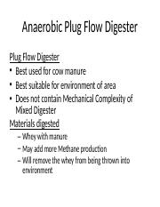 Anaerobic Plug Flow Digester.ppt