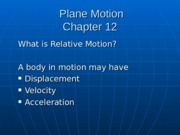 AM2-Chapter 12-Plane Motion-W08