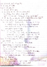 Pre analysis notes - Open and Closed Sets, Vector Spaces