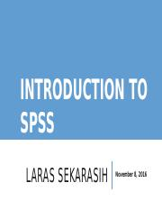 Intro to SPSS_Cross Cultural Psych