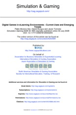 Digital Games In eLearning Environments