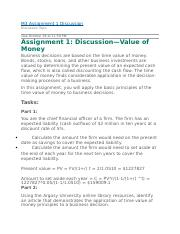 Discussion—Value of Money.WK3.docx