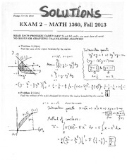 Exam solutions 2