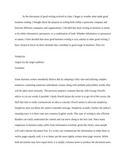 Good Business Writing Paper