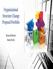 Organizational Structure Change Proposal Portfolio.pptx