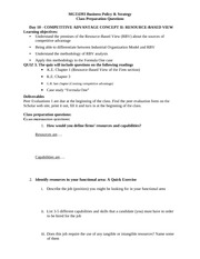 MGT4394 Day10 RBV Prep Questions