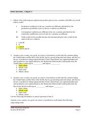 Study Question_Chapter 4_ECON3600-2.doc