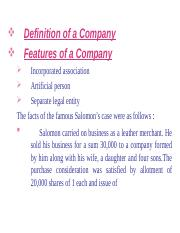 ELEMENTS OF COMPANY LAW 3 4 2016.ppt
