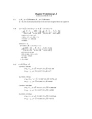Chapter 9 Solutions pt.1 f2012