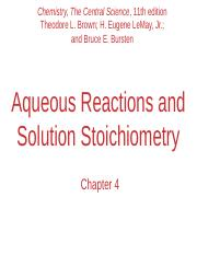 Chapter-4-Reactions in Aqueous Solution NEW.pptx