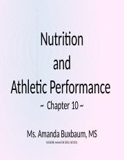 My Presention on Nutrition and Athletics9.pptx