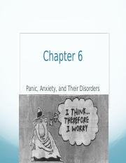 Chapter+6+-+Anxiety+Disorders