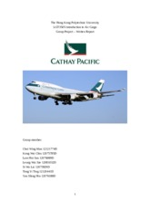 LGT3505Air cargo Group Project _ Written Report