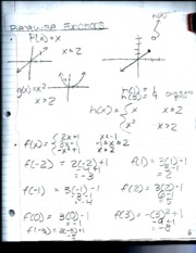PreCalculus Math Notes 9