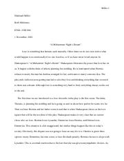 midsummer nights dream essays questions Essays and criticism on william shakespeare's a midsummer night's dream - suggested essay topics.