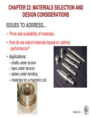 Ch22-Materials selection and design consideration_01_10_2015
