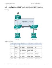 Lab 7 - Configuring 802.1Q Trunk-Based Inter-VLAN Routing.docx