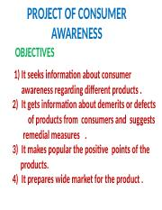 PROJECT_OF_CONSUMER_AWARENESS