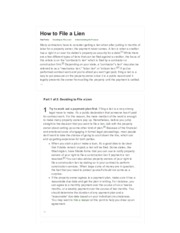 How to File a Lien_ 8 Steps